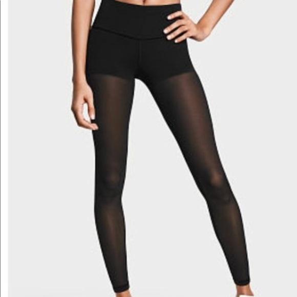 7dcab6e9f2b68 Victoria's Secret Pants | Nwt Vs Sport Cali Haze Rainbow Sheer ...